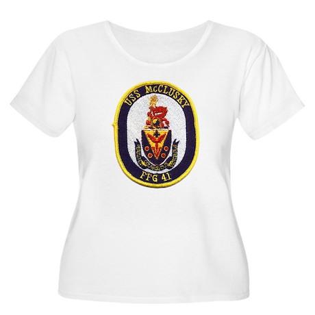 USS McCLUSKY Women's Plus Size Scoop Neck T-Shirt