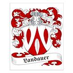 Landauer Family Crest Small Poster