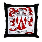 Landauer Family Crest Throw Pillow
