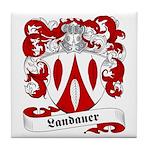 Landauer Family Crest Tile Coaster