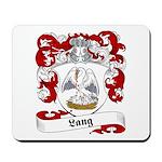 Lang Family Crest Mousepad