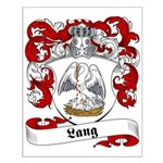 Lang Family Crest Small Poster