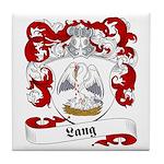 Lang Family Crest Tile Coaster
