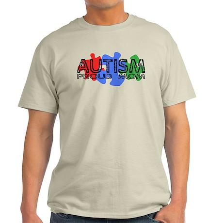 Autism - Proud Mom Light T-Shirt