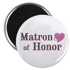 "Matron of Honor II 2.25"" Magnet (10 pack)"