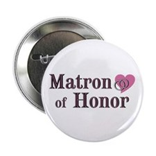 "Matron of Honor II 2.25"" Button (10 pack)"