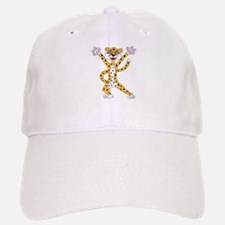 Cartoon Cheetah Baseball Baseball Cap