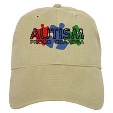 Autism - Proud Grandpa Baseball Cap