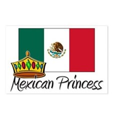 Mexican Princess Postcards (Package of 8)