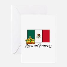 Mexican Princess Greeting Card