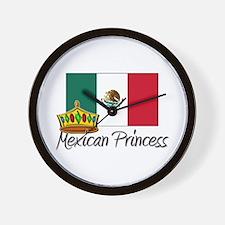 Mexican Princess Wall Clock