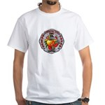 Riverside FD Engine 11 White T-Shirt