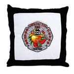 Riverside FD Engine 11 Throw Pillow
