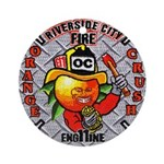 Riverside FD Engine 11 Ornament (Round)