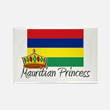 Mauritian Princess Rectangle Magnet