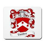 Lauber Family Crest Mousepad
