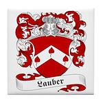 Lauber Family Crest Tile Coaster