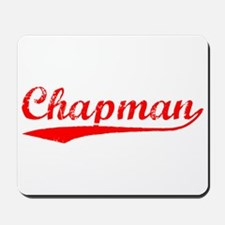 Vintage Chapman (Red) Mousepad