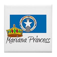 Mariana Princess Tile Coaster