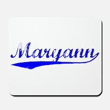 Vintage Maryann (Blue) Mousepad