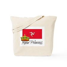 Manx Princess Tote Bag