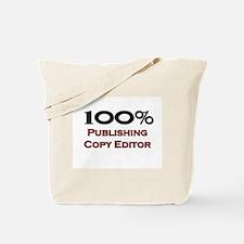 100 Percent Publishing Copy Editor Tote Bag