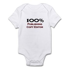 100 Percent Publishing Copy Editor Infant Bodysuit
