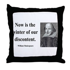 Shakespeare 23 Throw Pillow