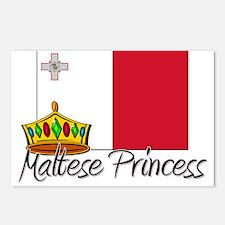 Maltese Princess Postcards (Package of 8)