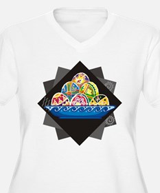 Bowl Of Painted Eggs T-Shirt