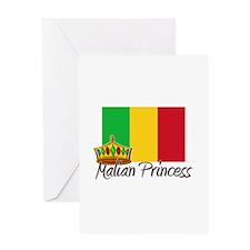 Malian Princess Greeting Card