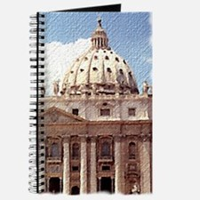 Rome Vatican canvas-look Journal