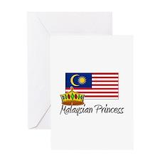 Malaysian Princess Greeting Card