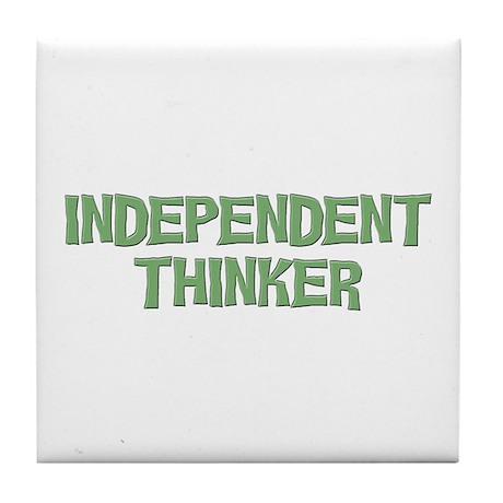 Independent Tile Coaster