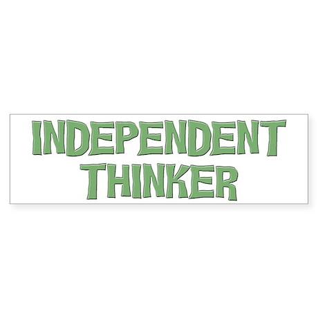 Independent Bumper Sticker