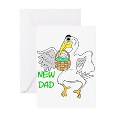 New Dad New Baby Greeting Card