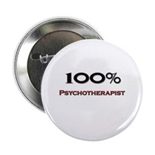 "100 Percent Psychotherapist 2.25"" Button"