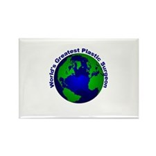 World's Greatest Plastic Surg Rectangle Magnet