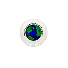 World's Greatest Plastic Surg Mini Button (10 pack