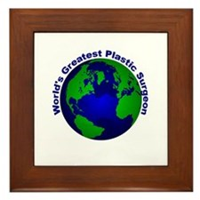 World's Greatest Plastic Surg Framed Tile