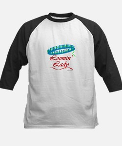 Loomin' Lady Kids Baseball Jersey