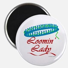 Loomin' Lady Magnet