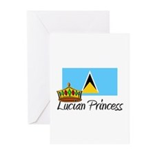 Lucian Princess Greeting Cards (Pk of 10)