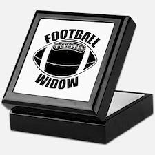 Football Widow Keepsake Box
