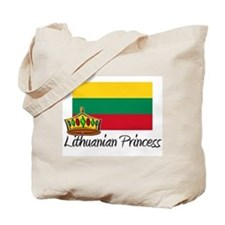 Lithuanian Princess Tote Bag