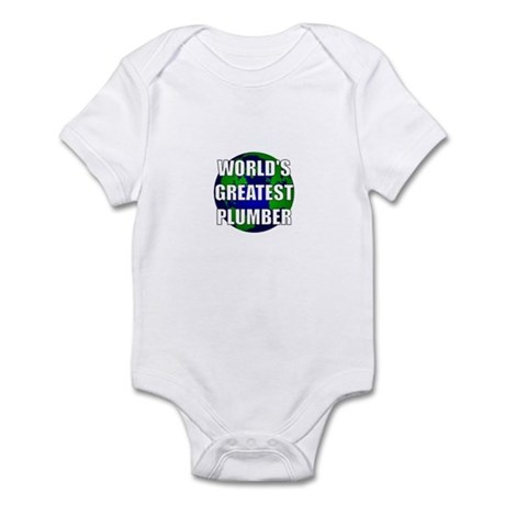 World's Greatest Plumber Infant Bodysuit