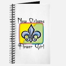 New Orleans Flower Girl Journal