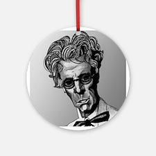 W.B. Yeats Ornament (Round)