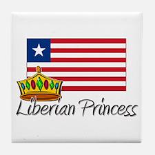 Liberian Princess Tile Coaster