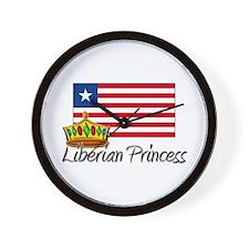 Liberian Princess Wall Clock